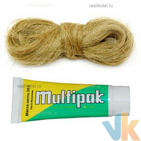 Unipak Комплект MULTIPAK №3 ГАЗ (тюбик 20/25 г. + лен 13/14 г.),