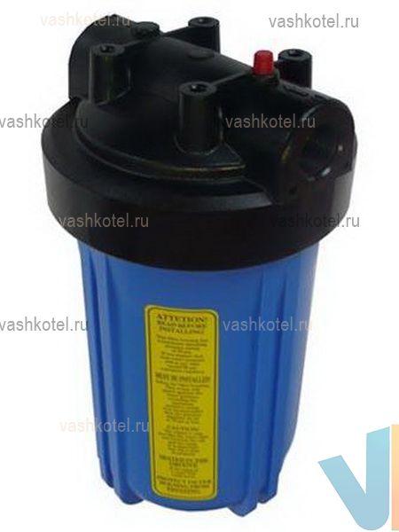 Aquapro Корпус фильтра AQF-1050 1, диаметр 180 мм (под картридж 114 мм), (синий),