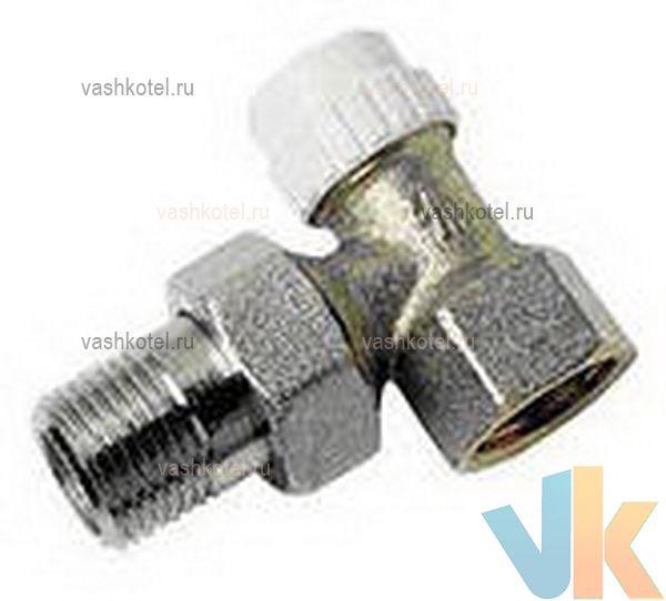 RBM Клапан д/радиатора запорный угловой JET-LINE 1/2,