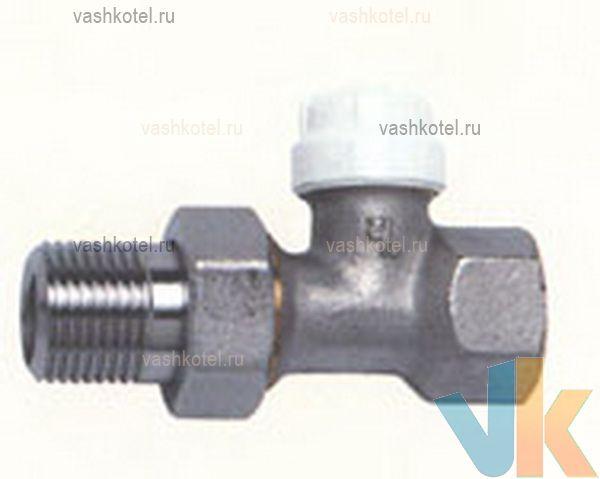 RBM Клапан д/радиатора запорный прямой JET-LINE 1/2,