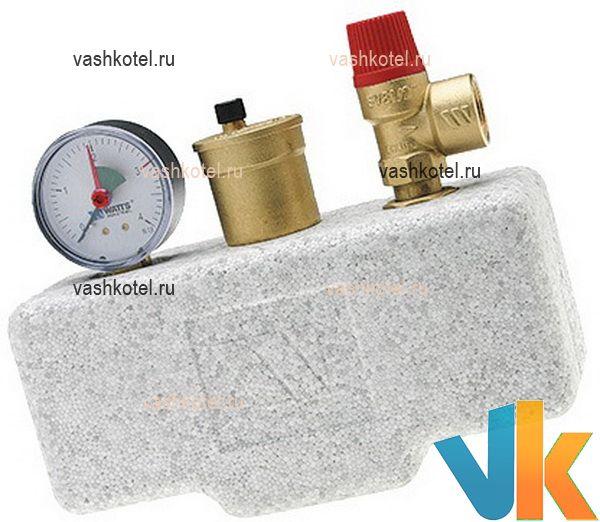 Watts Группа безоп. котла до 50 кВт на 3 бар KSG 30/ISO2 с теплоизоляцией,