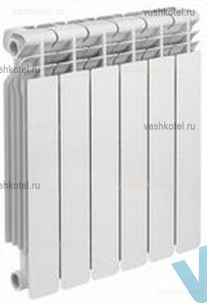 October-LUX Радиатор алюминиевый 80/500 4 секц,