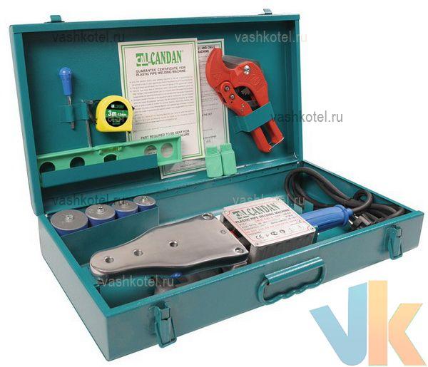 Candan Комплект сварочного оборудования Candan CM-01 20-63 1500 W,