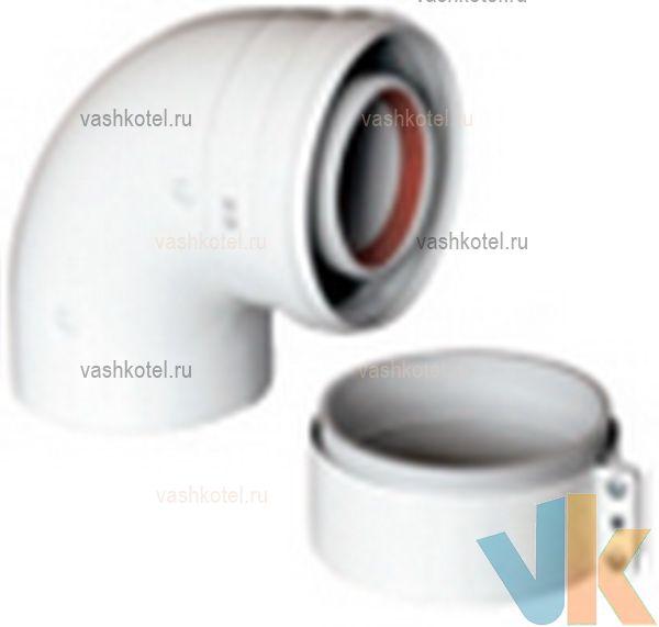 Baxi 60/100 Коаксиальный отвод 90,
