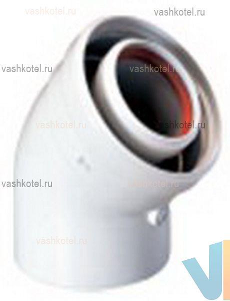 Baxi 60/100 Коаксиальный отвод 45,