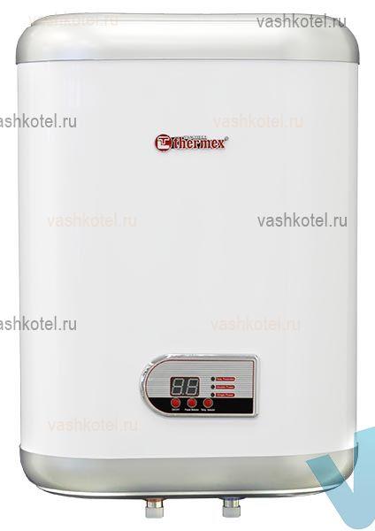 Thermex Водонагреватель IF 30 V FLAT PLUS (1,3 +0.7 кВт, нерж. сталь),