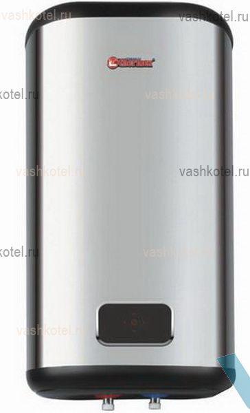 Thermex Водонагреватель ID 80 V FLAT DIAMOND TOUCH (1,3 +0.7 кВт, нерж. сталь),