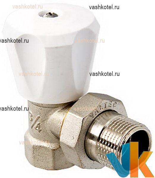 Valtec Клапан д/радиатора регулиров. угловой 1/2 (компактный),