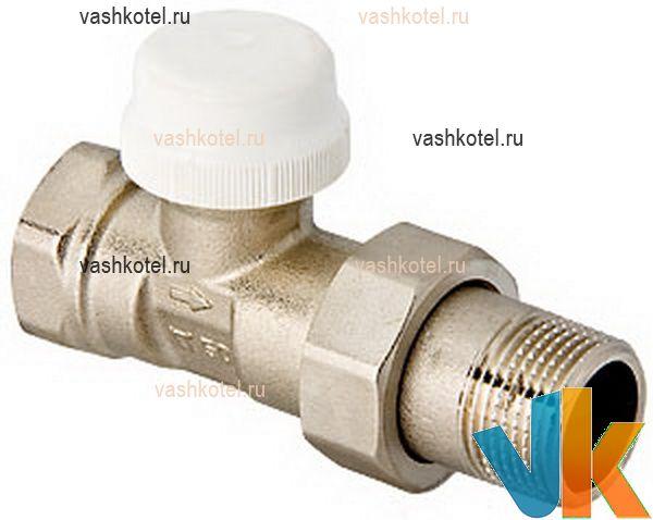 Valtec Клапан термостатический для рад. прямой 1/2,