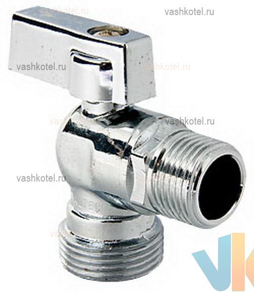 Valtec Кран шар. угловой для подкл. с/т приборов 1/2 х 1/2,