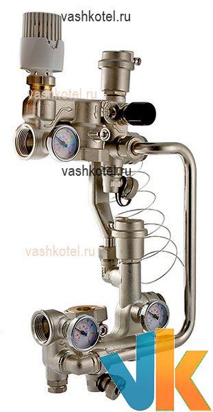 Valtec Насосно-смесительный узел без насоса, монтажная длина насоса 180 мм,