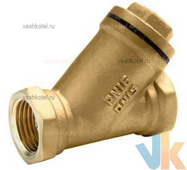 БАЗ Фильтр сетчатый с магнитом 1 ВВ, латунь, газ, Ру16, Т от -60°С до +50°С,