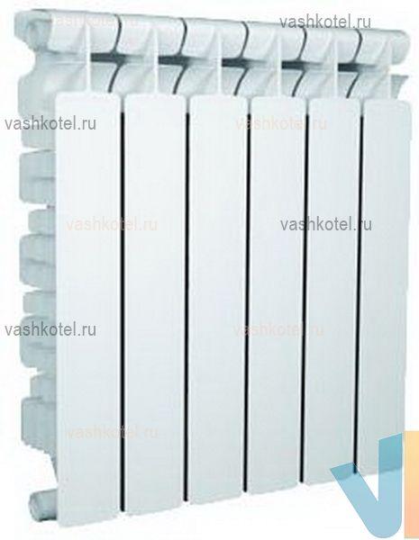 Nova Florida Алюминиевый радиатор GENIALE 80/500 4 секц,